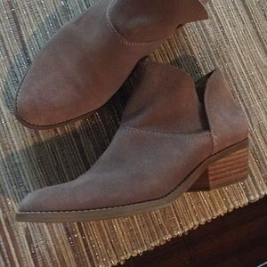 Lucky boots booties leather Camuto Free People 8